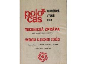 POLOČAS SLAVIA mimořádné vydání 1983