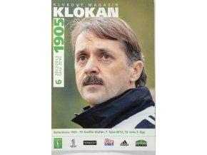 Program Klokan 1905, Bohemians 1905 v. FC Graffin Vlašim, 62012
