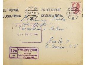 CELISTVOST 75 let kopané SK SLAVIA PRAHA , Potraviny (1) 1