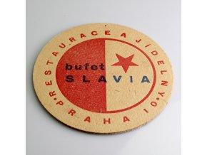 Pivní tácek bufet SLAVIA