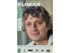 Program Klokan 1905, Bohemians 1905 v. FK Baník Most, 72012