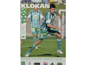 Program Klokan 1905, Bohemians 1905 v. FK Viktoria Žižkov, 82012