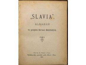 Kniha Slavia, Almanach ve prospěch Slovanů Záhřebských (2)