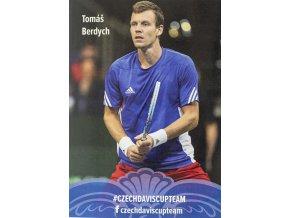 Podpisová karta, Star Team, Tomáš Berdych, Czech Davis cup team 1