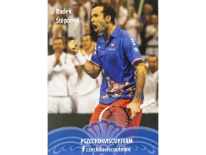 Podpisová karta, Star Team, Radek Štěpánek, Czech Davis Cup team