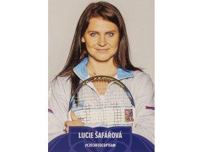Podpisová karta, Star Team, Lucie Šafářová, Czech fed cup team II