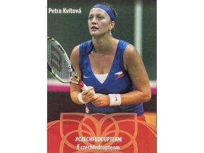 Podpisová karta, Star Team, Petra Kvitová, Czech fed cup team