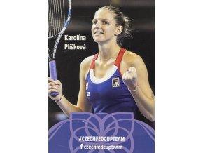 Podpisová karta, Star Team, Karolína Plíšková, Czech fed cup team