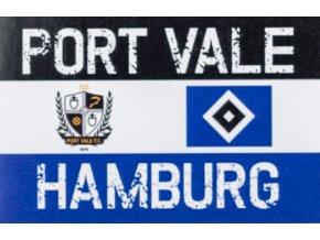 Samolepka HSV, port Vale ,Hamburg