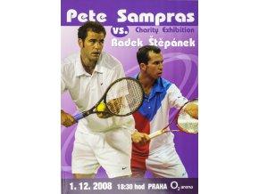 Official Program Advantade tennis, Pete Sampras v. Radek Štěpánek, Praha 2008