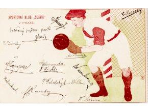 Dopiska Sportovní klub Slavia v Praze, 1905 II (1)