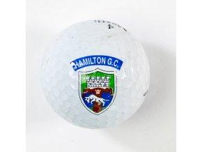 Golfový míček, Hamilton G.C.