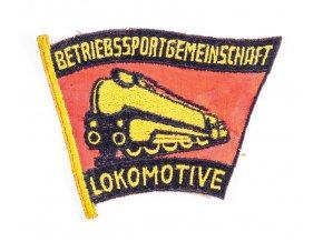 Nášivka Betriebs Sportgemeinschaft Lokomotive 1