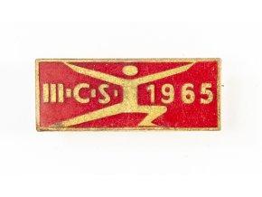 Odznak smalt, III. ČS (spartakiáda), 1965