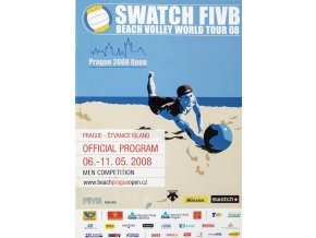 Official program, FIVB, beach volleyball, WT, 2008