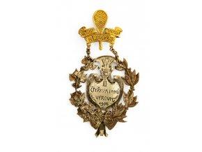 Dekorace III. cena, čtyřhra pánů, 1906 (2)