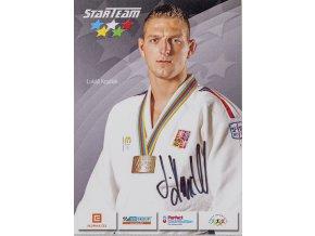 Podpisová karta, Star Team, Lukáš Krpálek, autogram