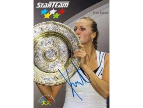Podpisová karta, Star Team, Petra Kvitová, Czech fed cup team II, autogram