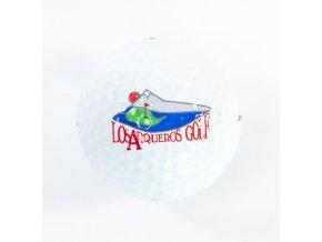 Golfový míček, 3 DDH 500, Dunlop, Los Araqueros GOLF