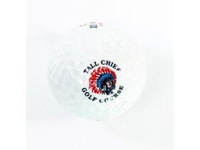 Golfový míček, Dunlop II, DDHII, Tall Chief, Golf Course