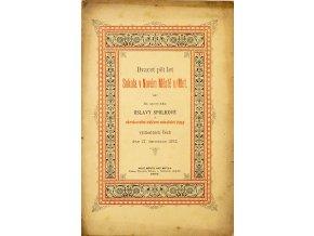 Časopis, 25. let Sokola v Novém Městě nMetují, 1892