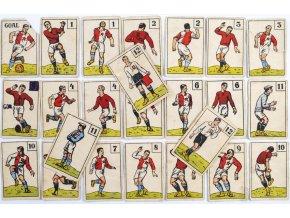 Dobové hrací karty zápas Sparta Slavia II (1)