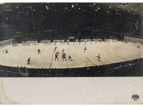 Fotografie ČTK, Pohled na ledovou plochu, Innsbruck 1964