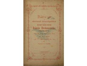 Časopis, 25. let Sokola v Nechanicích, 1893