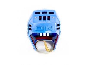 Hokejová přilba OKULA, tmavě modrá (1)