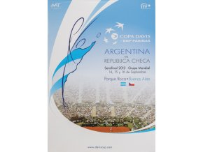 Program, Davis Cup , Kazachstan v. Republica Checa, 2012