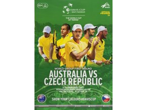 Program, Davis Cup , Australia v. Czech Republic, 2017