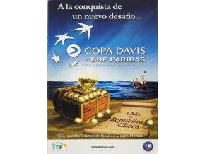 Program, Davis Cup , Chile v. República Checa, 2010