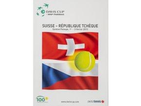 Program, Davis Cup , Chile v. Suisse v. République Tchéque, 2013