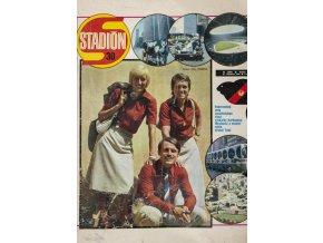 Časopis STADION, ročník XXII, 27.VIII.1976, číslo 30