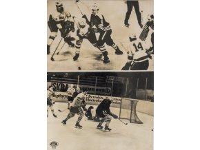 Fotografie ČTK, hokej ČSSR, USA, Švédsko, 1963