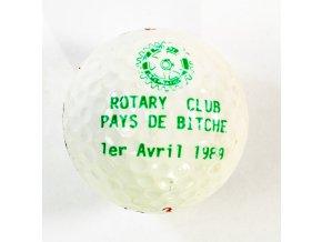 Golfový míček, Rotary Club, 1989