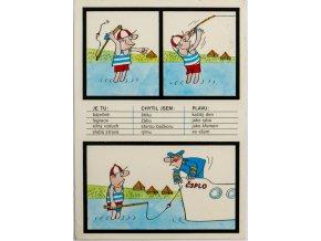 Pohlednice, Mladý rybář a lodník (1)