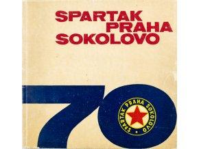 70 let Spartak Praha Sokolovo 1893 1963 (1)