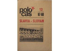 POLOČAS SLAVIA SLOVAN, 1967 1968DSC 4657