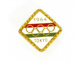 Odznak smalt, OH Tokyo, 1964 (1) 1