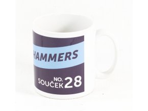 Hrnek West Ham United, Tomáš Souček, #28 Hammers (3)