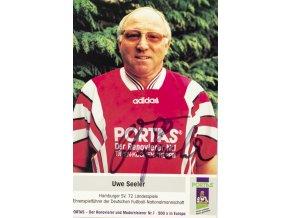 Pohlednice s autogramem Portas, Uwe Seeler (1)