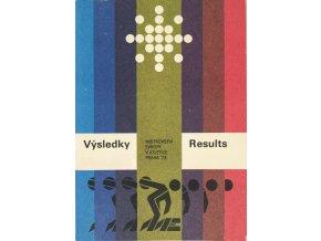 Výsledky Results, ME Atletika, Praha, 1978, podpisy rozhodčích (1)