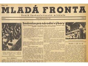 Noviny Mladá fronta, č. 141945 (1)