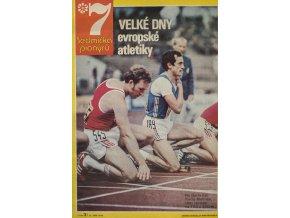 Časopis , Sedmička pionýrů, 31978, lME Atletika