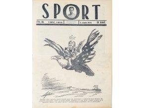 Časopis SPORT, č. 41, 1924 (1)