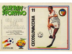 Tiskovina, Guerin Sportivo, Espaňa 82, Czechoslovakia (1)