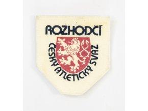 Nášivka Rozhodčí Český atletický svaz