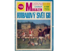 Časopis Kopaná, hokej, Magazín fotbalový svět 1968DSC 6056 3 (10)