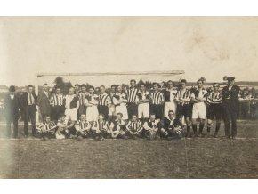 Fotografie fotbal, AK Žižkov, SK Slavia, 1930 (1)